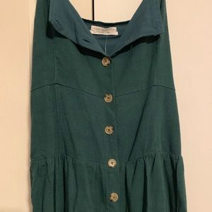 Urban Outfitters Button-Up Midi Dress